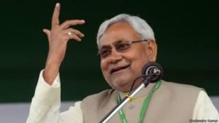 बिहार में नीतीश कुमार की रैली