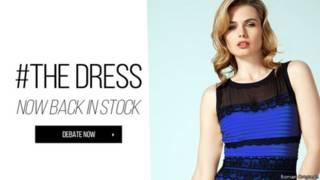"""""""El vestido"""" que caus'o sensaci'on hace unos meses en las redes sociales."""