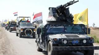伊拉克政府軍車隊