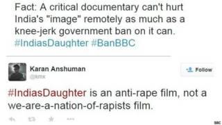 बीबीसी डॉक्यूमेंट्री सोशल मीडिया पर छाई रही