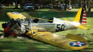 विमान दुर्घटना, हैरिसन फोर्ड