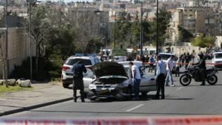 یروشلم: فلسطینی ڈرائیور نے پانچ افراد کو ٹکر مار دی