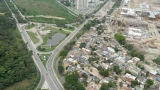 Vila Autódromo vista de cima / Crédito: Divulgação