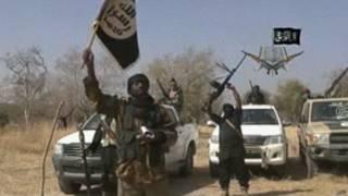 Militantes do Boko Haram (AFP)