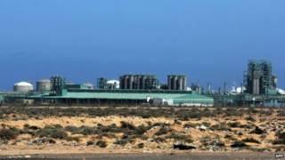 Месторождение аль-Гани в Ливии