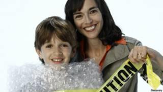 Lenore Skenazy, em foto de divulgação do programa 'The World's Worst Mom' (Divulgação/Discovery)