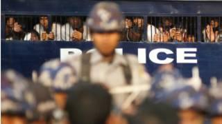 Boycott students were arrested in Letpadan