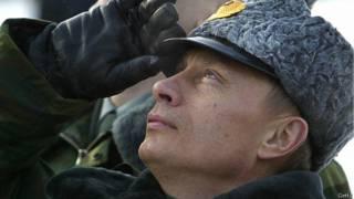 Путин в военной форме