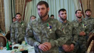 Сотрудники МВД Чечни