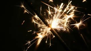 A small sparkler