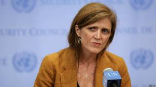 美国驻联合国大使鲍尔