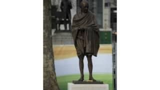 Sanamu ya shaba ya Mahatma Gandhi London