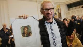 """Ларс Вилкс с премией """"Сапфо"""""""