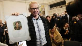 स्वीडिश कार्टूनिस्ट लार्स विल्क्स को पुरस्कार