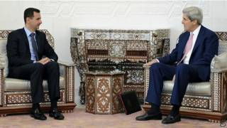 Kerry na Assad