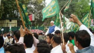 laloo in rjd rally in patna-manish shandilya