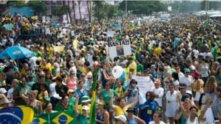 ब्राजील विरोध