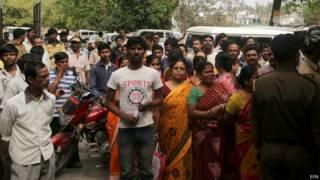 protesta en India por monja violada.