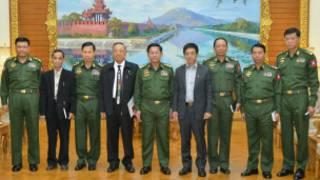 KIA and Burma Army leaders