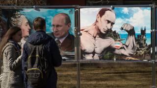 Крым в годовщину референдума о присоадинении к РФ