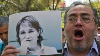 Protesta por despido de Carmen Aristegui en México