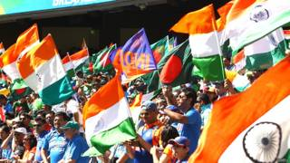 भारत का झंडा लिए लड़की, भारतीय क्रिकेट फैंस, ऑस्ट्रेलिया
