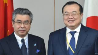 چین اور جاپان کے نائب وزیرِ خارجہ