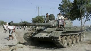 也門坦克車
