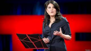 Monica Lewinsky no TED | Foto: Reuters