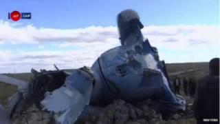 विद्रोहियों के इलाक़े में गिरा सीरियाई सेना का हेलीकॉप्टर