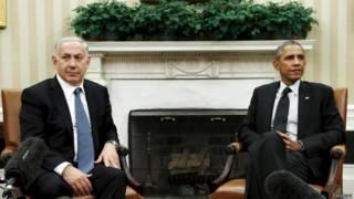 Нетаьяху и Обама