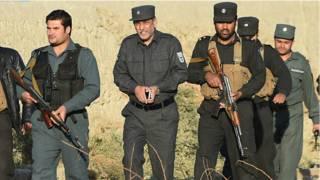 afgan police-afp