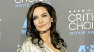 Nữ diễn viên Angelina Jolie