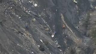Reruntuhan Germanwings