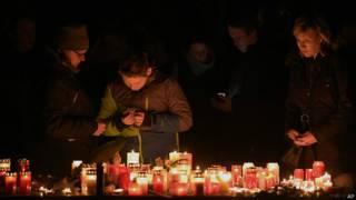 Свечи в Хальтерне