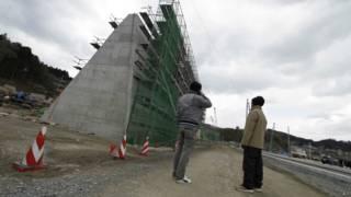 Muro para proteger a Japón de un tsunami