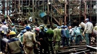 vietnam scaffolding collapse-reuters