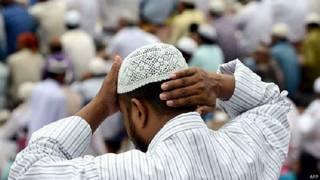 भारतीय मुस्लिम व्यक्ति