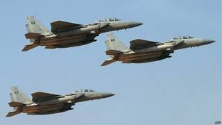 Саудовские военные самолеты