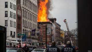 Пожар на Манхэттене