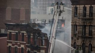 Пожар в Манхэттене
