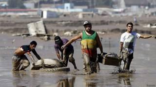 Inundaciones en Chile