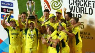 ऑस्ट्रेलियाई टीम कप जीतने के बाद