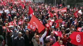 احتجاجی مارچ