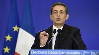 elecciones locales Francia Sarkozy