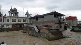 कश्मीर, बाढ़