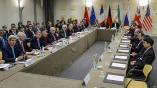 ईरान मुद्दे पर बातचीत