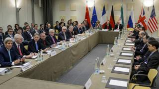 На переговорах в Лозанне
