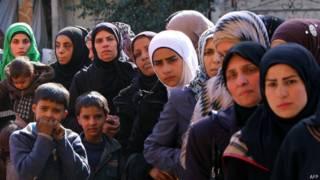 """Лагерь беженцев """"Ярмук"""""""