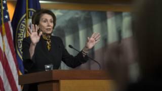 Leader of the US House of Representatives Nancy Pelosi